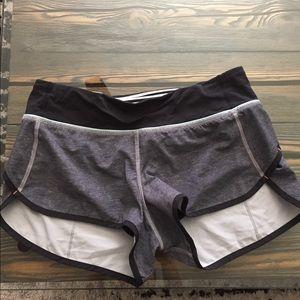 Lululemon Speed Shorts 🍋